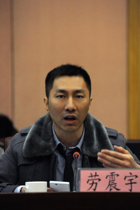 蓝龙互动传播机构总经理劳震宇